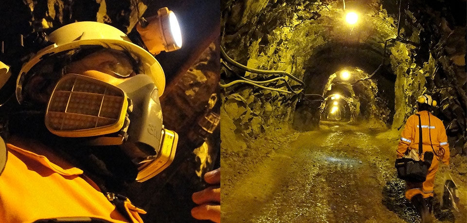Comunicaciones en exterior e interior de minas